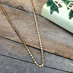 NWT HOUSE OF HARLOW Chunky Block Necklace